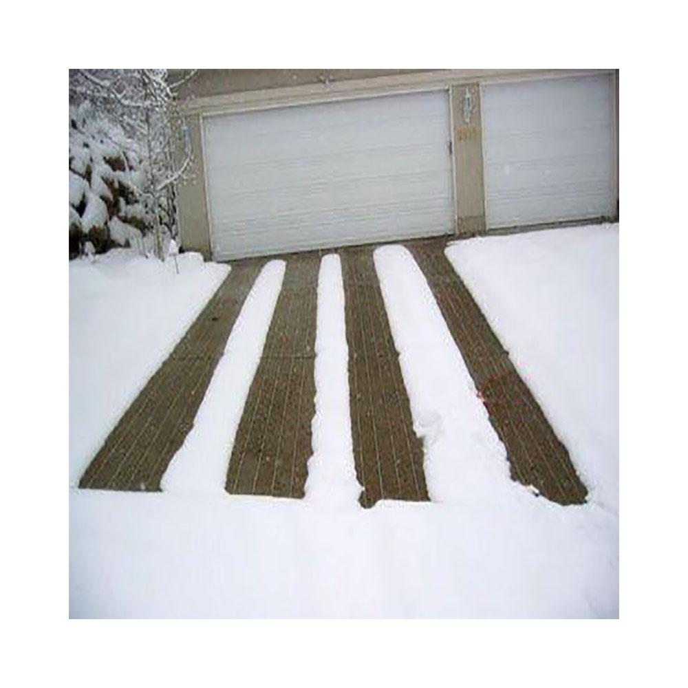 گرمایش از کف ورودی پارکینگ